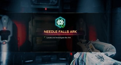Also Completes Needle Falls Ark Activity