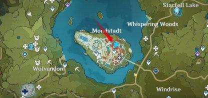 Mondstadt NPC Location Map