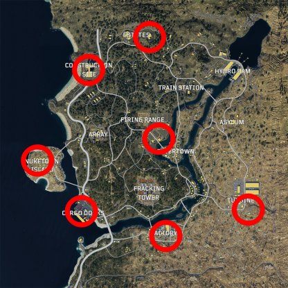 Helicopter Spawn Locations In Blackout Mode