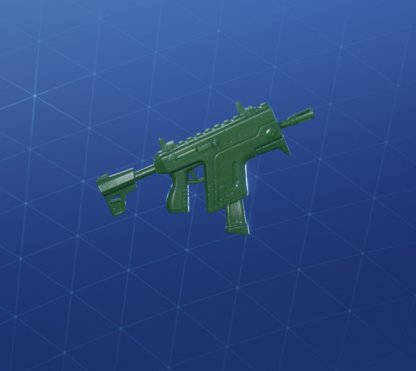 GREEN TOY Wrap - Submachine Gun