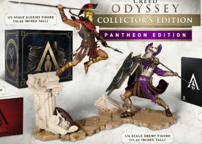 assassins creed odyssey pantheon edition xbox one