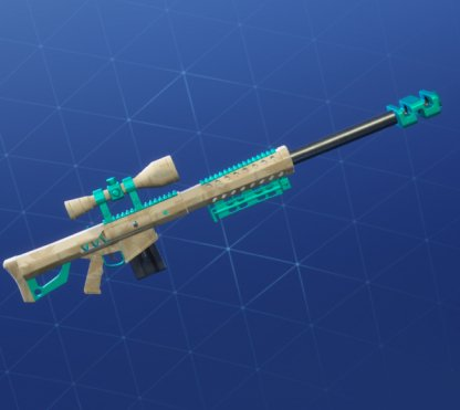 TROPICAL CAMO Wrap - Sniper Rifle