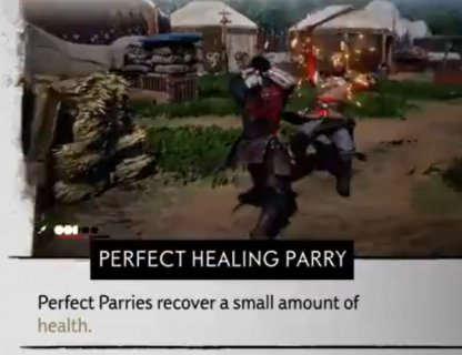 Perfect Healing Parry