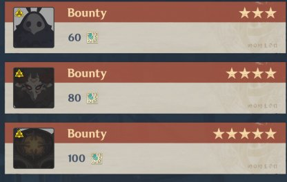 You can earn 300 Reputation EXP A Week