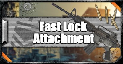 Call of Duty Black Ops IV Weapon Attachments Fast Lock
