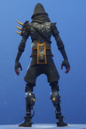 CLOAKED STAR Back