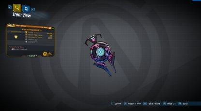 Improved Version 0.m - Legendary Shield Stats & Traits