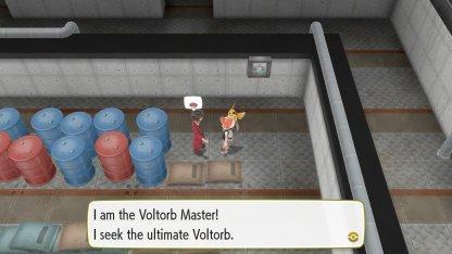Voltorb Master Trainer
