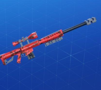 RED CAMO Wrap - Sniper Rifle