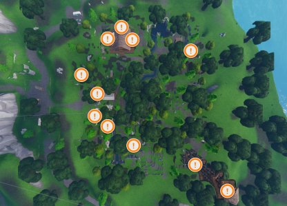 Lonely Lodge Map Chests