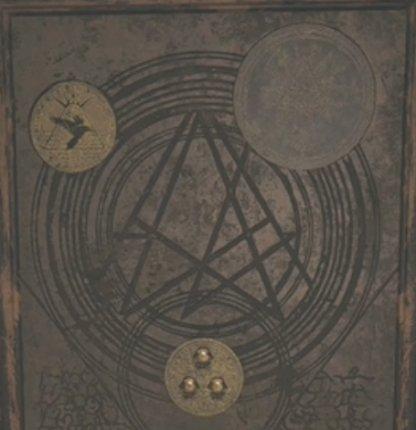 Brass Medallion (Doll) Door