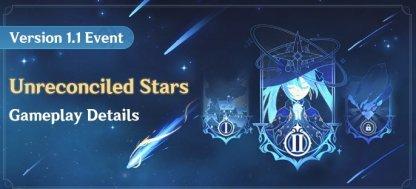 Unreconciled Stars Event