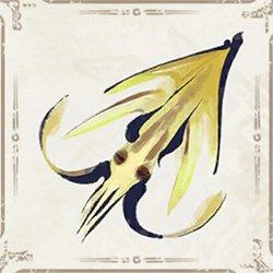 Golden Lampsquid