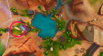 Vault Symbol Locations Southwest Oasis Birds Eye View