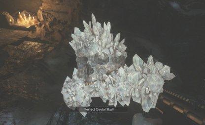 Perfect Crystal Skull