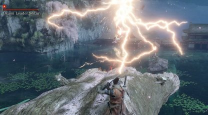 Okami Leader Shizu Sends Out Lightning Strikes