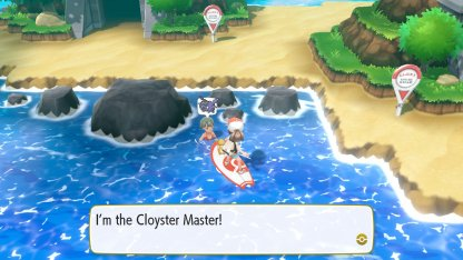 Cloyster Master Trainer