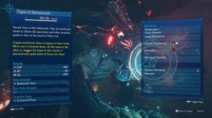 Type 0 Behemoth - Boss Info & Stats