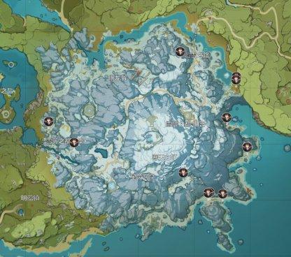 All Ice Shieldwall Mitachurl Locations - Map