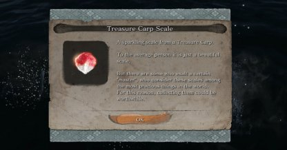 How to Get Treasure Carp Scales - Location & Use