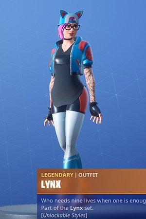 Fortnite Lynx Skin Review Challenge Leveling Guide Rewards