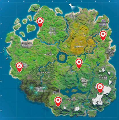 EGO Locations