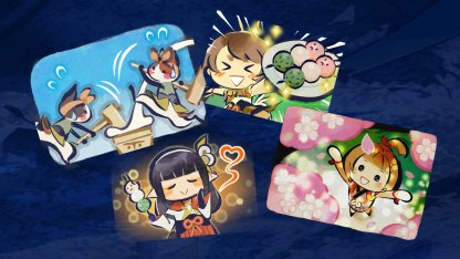 Dango Set Stickers