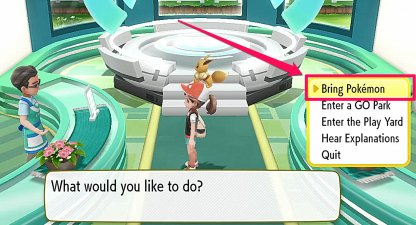 Connect With Pokemon GO