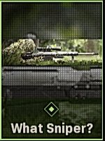What Sniper? Calling Card