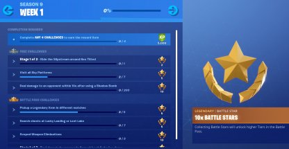 Complete Weekly Challenges to Get Battle Stars