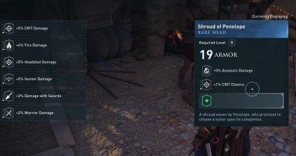 Armor List & Traits - Head - Assassin's Creed Odyssey