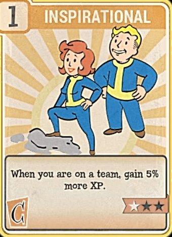 Fallout 76 Perk Card Charisma Inspirational