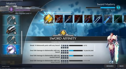 Efficiently Use Weapons To Raise Weapon Mastery