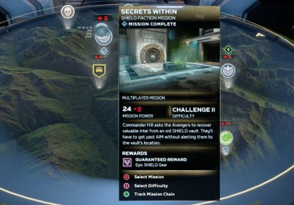 Secrets Within - Mission Rewards & Difficulty