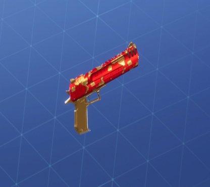 GOLDEN CLOUDS Wrap - Handgun