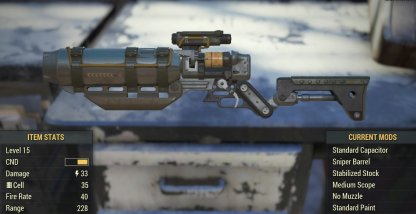 Charging Laser Sniper Rifle Image