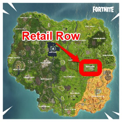 Fortnite Search a Chest in Retail Row