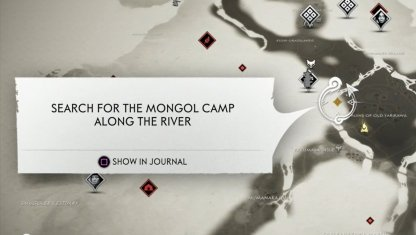 Mongol Camp Map Location