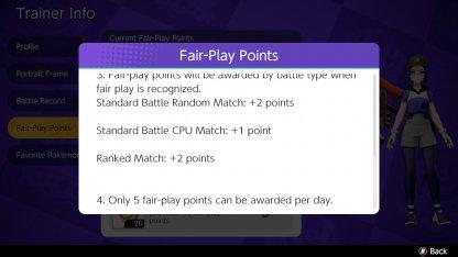 5 Fair Play Point Daily Limit