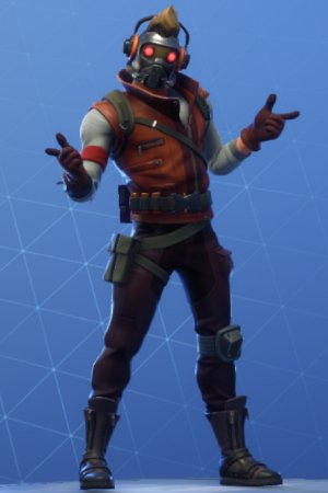 STAR-LORD OUTFIT