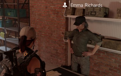 Recruit Emma Richards To Unlock Recalibration
