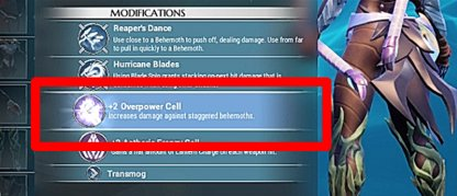 Overpower For More Damage When Down