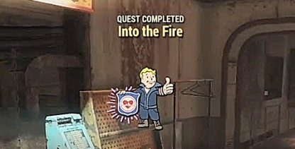 Fallout 76 Main Quest Story Into the Fire