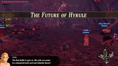 The Future Of Hyrule - Level & Characters