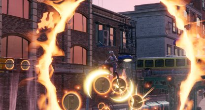 Jump Through Flaming Hoops