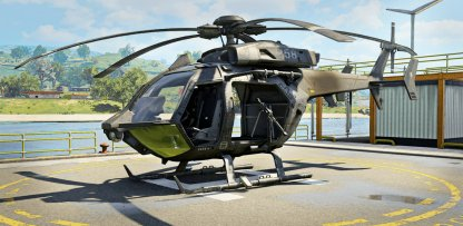New Aerial Vehicle Attack Helicopter Debuts