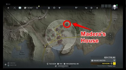 Madera's House Location