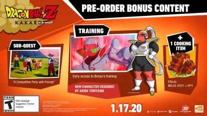 Dragon Ball Z: Kakarot Pre-Order Bonus Content