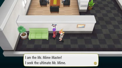 Mr. Mime Master Trainer