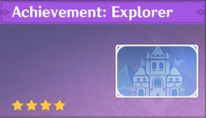 Complete To Get Achievement: Explorer Namecard
